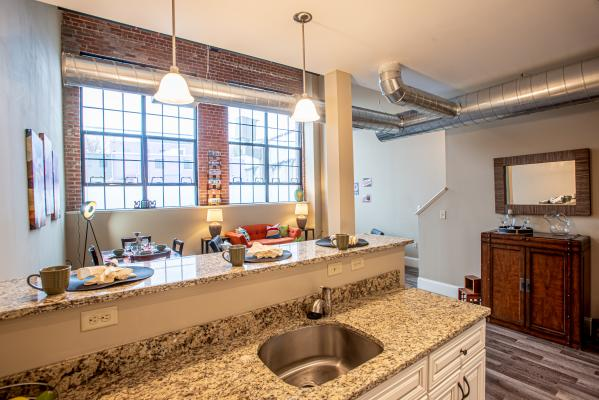 US Rubber Lofts Kitchen