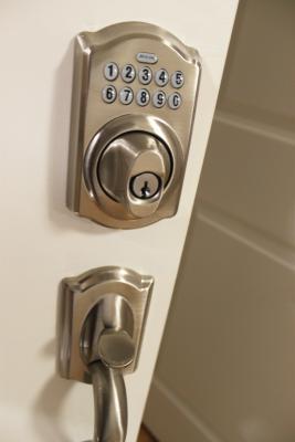 Convenient keyless entry